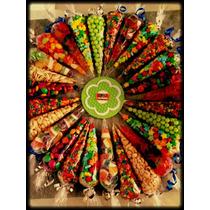 10 Conos De Dulces O Botanas Para Fiestas Hacemos Envios