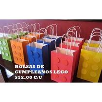 Bolsas De Papel Para Fiesta (lego)