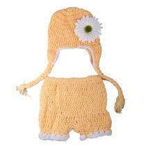 Leegoal Lindo Beb? Infantil Traje Girasol Crochet Punto