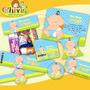 Kit Imprimible Baby Shower Tarjetas Candy Bar Tarjetas Invit