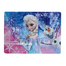 Fiesta De Princesas Frozen Disney, Rompecabezas Premio