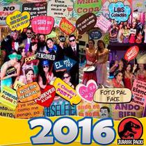 Props Photo Booth Kit Imprimible Fiestas Bodas Cartelito 2x1