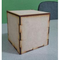 10 Cajas De Mdf 10 X 10 X 10 Con Tapa. Recuerdito