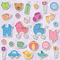 Imagenes Baby Shower Cositas De Bebe Png Y Corel