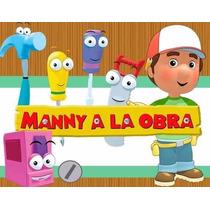 Kit Imprimible Manny A La Obra, Invitaciones Y Cajitas