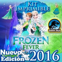 Kit Imprimible Frozen Editable, Como Decorar Fiesta Infantil