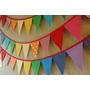 Decoración / Shabby Chic / Vintage / Banderines / Pompones
