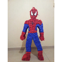 Piñata Spiderman, Caricaturas