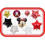 45 Globos Minnie Mouse Roja Fiesta Tematica Disney Cumpleaño