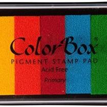 Paquete De Tintas De Colores Para Huellas