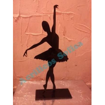 Bailarina 50cm Decorativa Acrilico