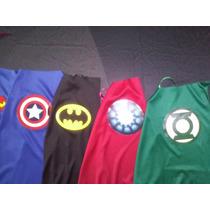 10 Capas De Superheroes Souvenir, Recuerdo, Regalo Batman