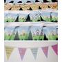 10 Metros Banderines Personalizados Fiestas Infantiles
