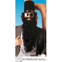 Traje Árabe - Long Negro Barba Y Bigote Pirata Fantasía
