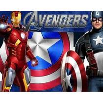 Kit Imprimible Los Vengadores Avengers Diseña Tarjetas Y Mas