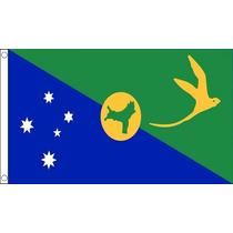 Bandera De La Isla De Navidad - Australia 5ftx 3ft Con El Me
