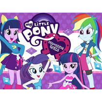 Kit Imprimible My Little Pony Equestria Girls Y Mas