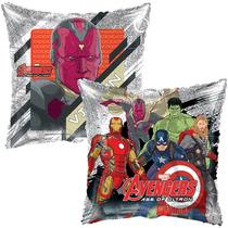 Globo Avengers Era De Ultron Paq 10pza 9 Pulgadas Centro Mes