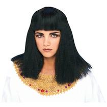 Cleopatra Costume - Negro Peluca Egipcia Reina Del Vestido D