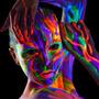 6 Pzas Facepaints Crayolas Neon Maquillaje Uv Glow Original