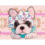 Kit Imprimible Bulldog Frances Perritos Tarjetas Y Mas