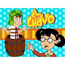 Kit Imprimible El Chavo Del 8 Diseña Tarjetas Invitacion 2x1