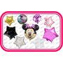 Globos Minnie Mouse Fiesta Tematica,dia Del Niño,cumpleaños