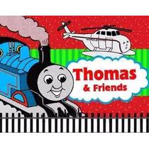 Kit Imprimible Thomas El Tren Diseñá Tarjetas, Cumples 2x1