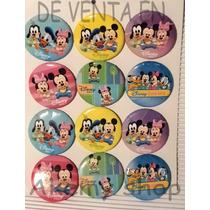 Baby Mickey Mouse 12 Botones O Pines Articulos De Fiesta