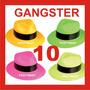 10 Sombreros Fiesta Boda Dj Batucada Gangster Baile Peluca
