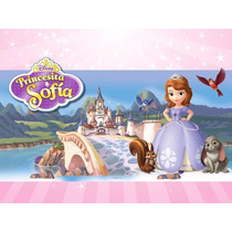 Kit Imprimible Princesita Sofia 2 En 1 Candy Bar Cotillon