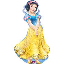 Globo Blanca Nieves Disney 6 Pzas Medida 14 Centro De Mesa