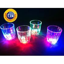 10 Tequileros Caballitos Con Luz,vaso Luminoso,fiesta Led