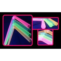 Popote Neon Party Glow Articulos Fiestas Boda Animacion Bar
