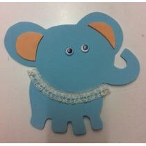 Figura De Foamy Fomi Elefante 12 Piezas