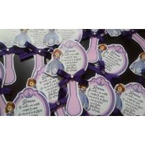 10 Invitacion Forma Espejo Princesa Sofia,cualquier Princesa