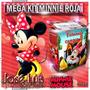 Minnie Mimi Roja Invitacion Cajitas Kit Imprimible Jose Luis
