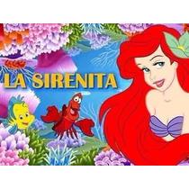 Kit Imprimible La Sirenita Princesa Ariel Cumples Y Mas