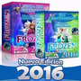 Mega Kit Imprimible Frozen Invitaciones Candy Calendario ..