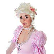 María Antonieta De Vestuario - Reina Blanca Peluca De Pelo