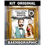 Kit Imprimible Photo Booth - Accesorios Para Bodas