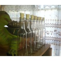 Botella De Cristal Con Corcho (270ml)