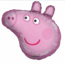 Peppa Pig Y George Globos Metálicos Todo Para Tu Fiesta
