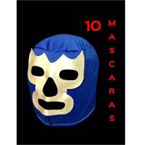 Mascaras De Luchador Adulto Batucada Bodas Varios Modelos