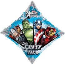 Globo Avengers Paquete 6 Pzas Medida 22 Pulgadas Para Helio