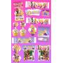 Kit Imprimible Rapunzel Enredados Personalizado 30 Etiquetas