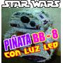 Piñata Bb-8 Sphero. Con Luz Led