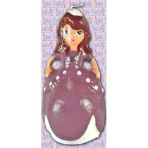 Vela De Cera Para Pastel Princesa Sofia Mide 18cm (1 Piezas)
