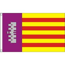 Mallorca Bandera - España Español 5ftx 3ft Con Ojales De M