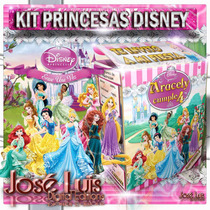Princesas Disney Invitaciones Kit Imprimible Y Mas Jose Luis